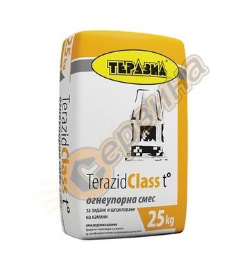 Теразид Клас t зидане на огнеопорни тухли Теразид 25кг TR120