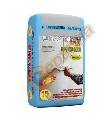 Шпахтелзид - шпакловка за гипсофазер и гипсокартон Теразид 3