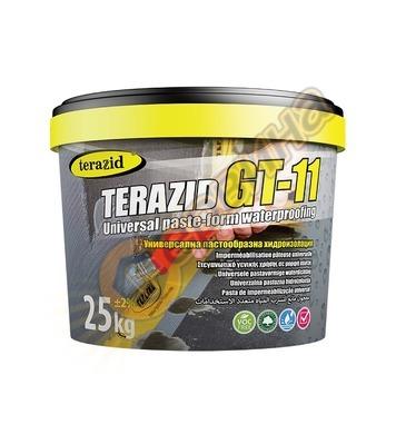 Теразид GT-11 готова за работа течна хидроизолация 25кг TR08