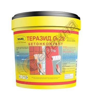Теразид G-22 Бетонконтакт  25кг - 18л TR066