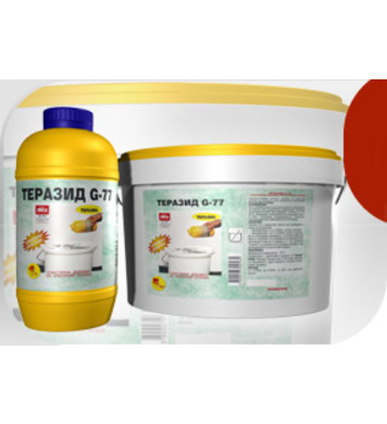 Теразид G-77 еластична добавка за критични основи 1кг - 1л T