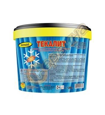 Текалит противозамръзваща добавка Теразид 16л - 20кг - цимен