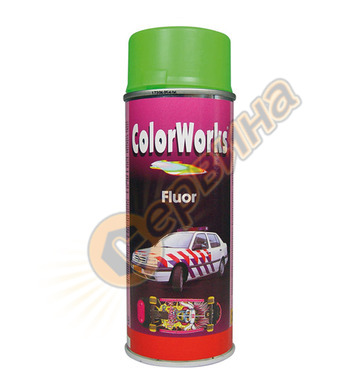 Флуоресцентен спрей - оранж ColorWorks  DE50350 - 400мл