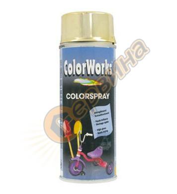Ефект спрей - злато ColorWorks DE50340 - 400мл