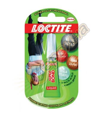 Универсално секундно лепило - течно Loctite Super Bond DE102