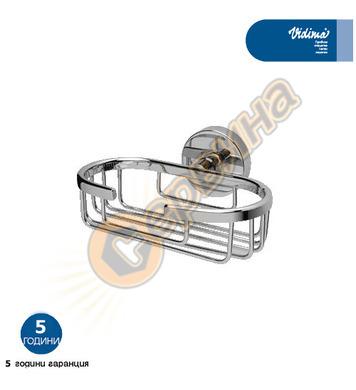 Метална сапуниера с държач Vidima SevaM B8400AA