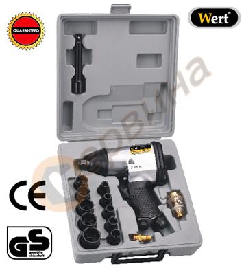 Пневматичен ударен гайковерт Wert W1855 - 1/2-320Nm