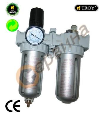 Пневматичен регулатор,филтър и омаслител TROY T18624 - 1/4-1