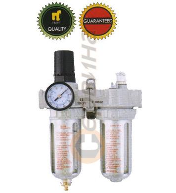 Пневматичен регулатор, филтър и омаслител ТROY T18622 - 1/2-