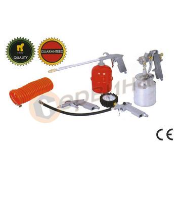 Комплект пневматични инструменти - 5части Тroy T2008