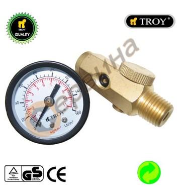 Регулатор на въздух с манометър TROY T2011