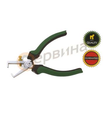 Клещи за оголване на кабел TROY T21014 - 160мм