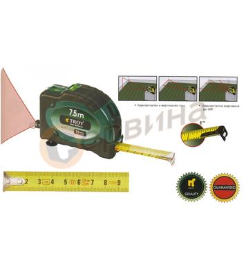 Ролетка със стопер и лазер TROY Т23100