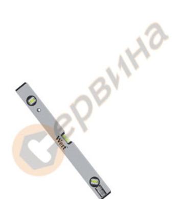 Алуминиев нивелир 80см Wert W2338