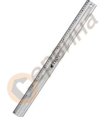 Професионална метална линийка 600мм TROY T23460