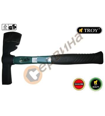Брадва с фибергласова ръкохватка TROY T27225 - 600гр.