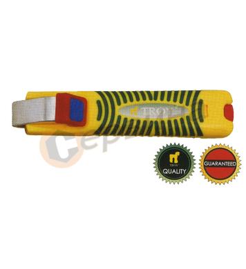 Инструмент за оголване на кабели TROY T24004