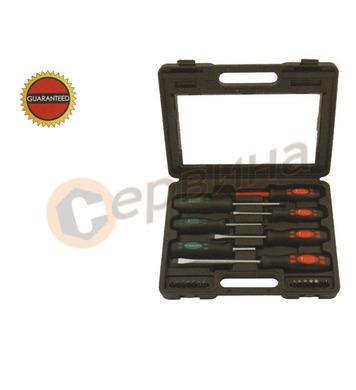 Комплект отвертки и накрайници, 21 части WERT W2230