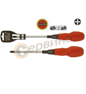 Кръстата отвертка PH3x150mm CR-V WERT W2295