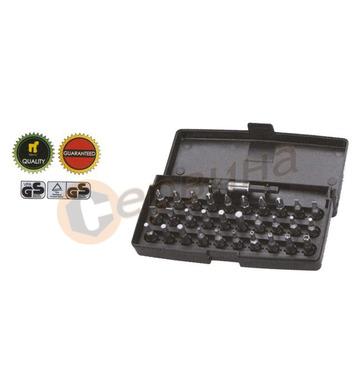 Комплект накрайници за отвертка 31части Wert W2231