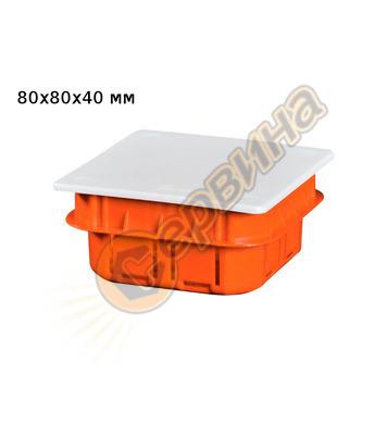 Разклонителна кутия за вграждане Borsan BR-730 80x80x40мм