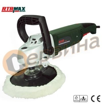Полирфлекс 1200W/180мм RTRMaX RTM148