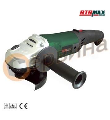 Ъглошлайф 1200W/115мм. RTRMaX RTM106 - в куфар