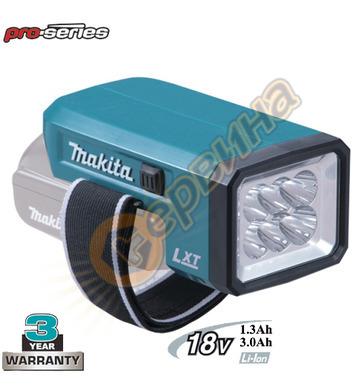 Акумулаторна лампа Makita DEADML186 - 18V/1.3-6.0Ah