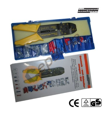 Комплект кабелни обувки с клещи за кабелни обувки Mannesmann