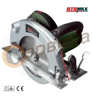 Циркуляр ръчен 1800W / 185мм RTRMaX RTM380