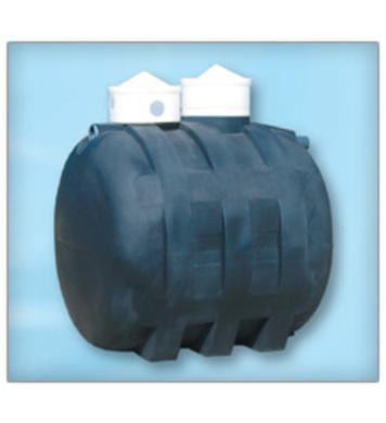 Резервоар окомплектован с PVC елементи 3200л
