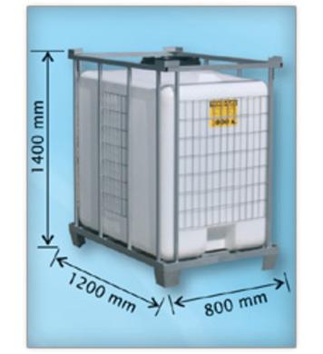 Кубичен контейнер 1200л 1400-1200