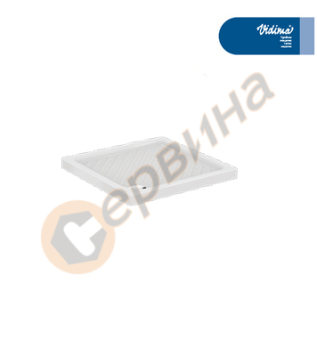 Поддушово керамично корито Vidima SevaFresh W836301 - 90х90x