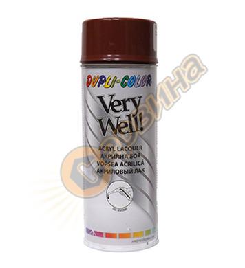 Спрей Very Well RAL3009 керемидено червен 400мл. DE30236