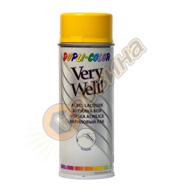 Акрилна боя спрей - наситено жълт Dupli Color Very Well RAL1