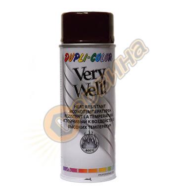 Спрей Very Well високо температурен кафяв 400мл. DE30203