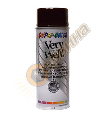 Високо температурен спрей - черен Dupli Color Very Well DE30