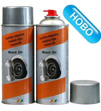 Черна смазка Motip DE50550 - 400мл