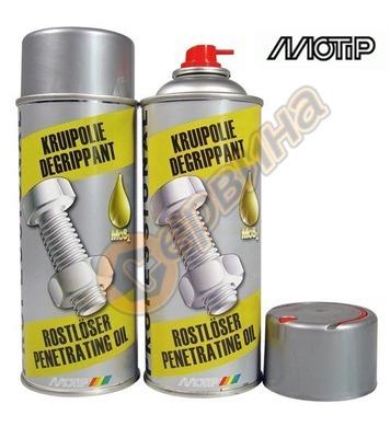 Спрей дълбокопроникваща смазка MOS2 Motip DE50580 - 5 литра