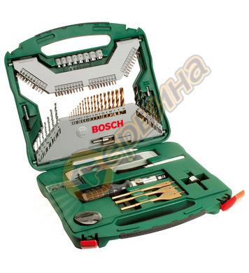 Комплект инструменти Bоsch X-line Titanium 2607019330 - 100ч