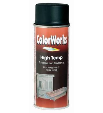 Високотемпературен спрей- кафяв ColorWorks 400мл. DE50313