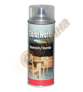 Синтетичен лак с UV защита- безцветен ColorWorks 400мл. DE50