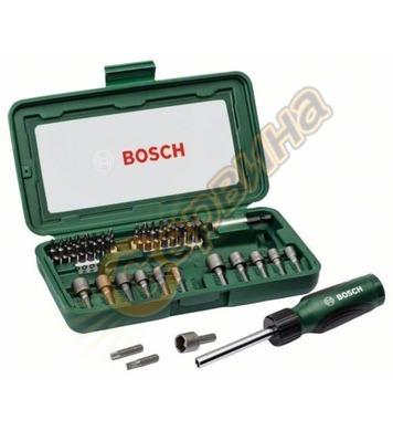 Отвертка Bosch комплект гедоре 2607019504 - 46броя