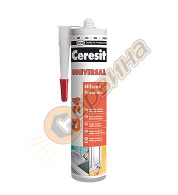 Ceresit CS 24 Universal 280мл.- бял универсален силикон DE12