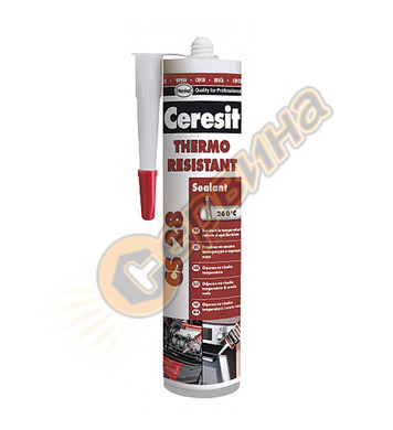 Ceresit CS 28 Heat resistant 300мл.- черен термоустойчив сил