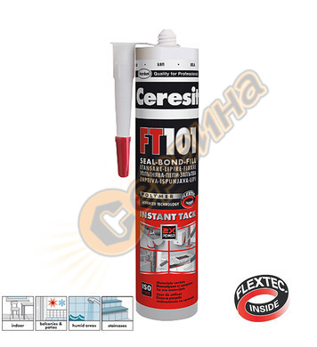 Високомодулен уплътнител - бял Ceresit FT 101 Flextec DE1252