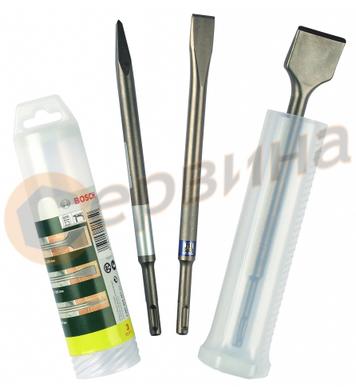 Комплект секачи и шила Bosch SDS-Plus 2607019457 - 3бр