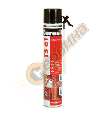 Ceresit TS 61 750мл. ръчна монтажна полиуретанова пяна DE113