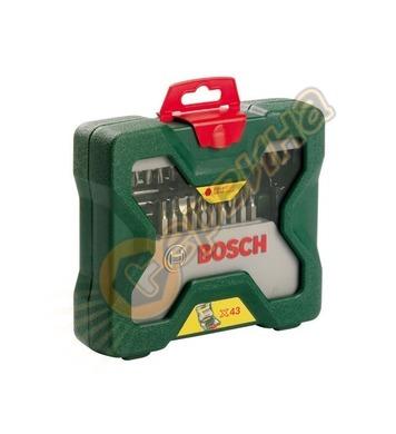 Комплект инструменти Bosch X-line 2607019613 - 43части