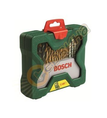 Комплект инструменти Bоsch X-line Titanium 2607019600 - 40ча